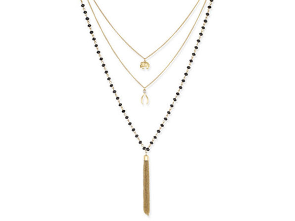 Inspired Life Multi-Layer Tassel Pendant Necklace - Product Image