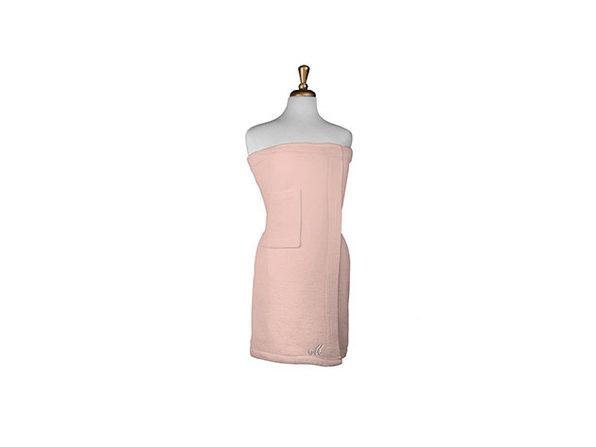 Parise Cotton Terry Bath Wrap Pink , 1 Piece - Product Image