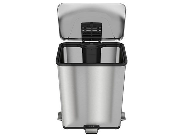 iTouchless AutoStep Pro 13-Gallon Step-Sensor Trash Can