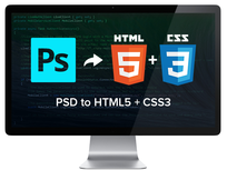 Code PSDs into Websites w/ this Web Design Tutorial - Product Image