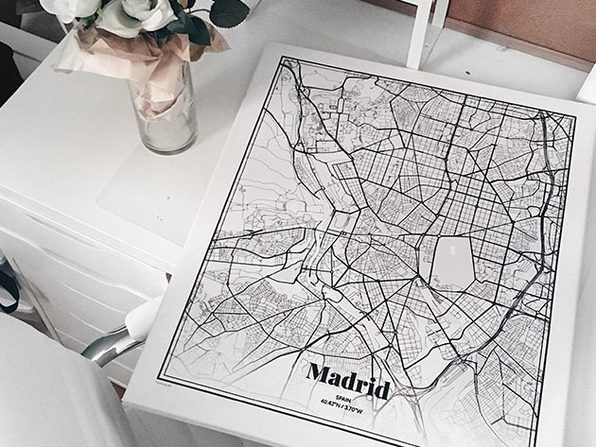 Grafomap Custom Canvas Map: 50% Off Coupon