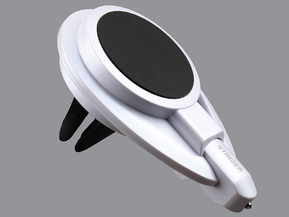 Stinger™ Car Vent Mount Phone Holder & Emergency Tool (White)