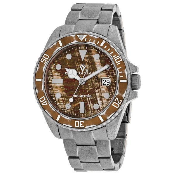 Christian Van Sant Men's Brown Dial Watch - CV5101