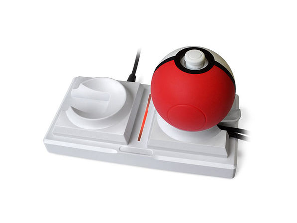 Nintendo Switch Dual PokeBall Charging Dock (White)