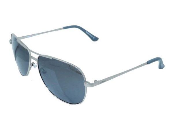 Revo Unisex RE 5015 03 GY  Johnston Polarized Aviator Sunglasses Silver - Silver