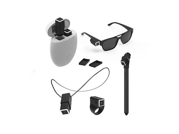 OPKIX Dual Wearable Camera + Egg Storage Bundle