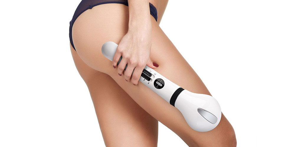 Hot & Cold Cordless Massager + Cellulite Reducer