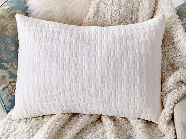 Sable Shredded Memory Foam Pillow with Thickened Bamboo Pillowcase