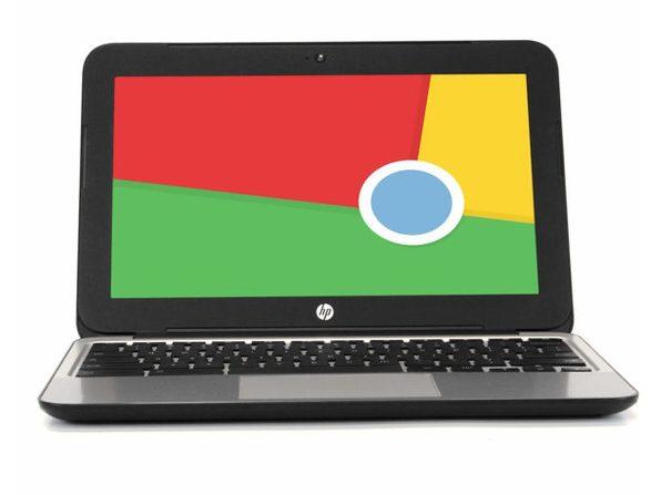 "HP Chromebook P0B79UT 11""  Laptop, 2.16GHz Intel Celeron, 2GB RAM, 16GB SSD, Chrome (Renewed)"