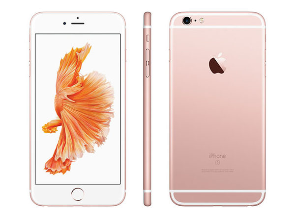 iPhone 6s 128GB - Rose Gold (Refurbished: WiFi + Unlocked) & Accessories Bundle
