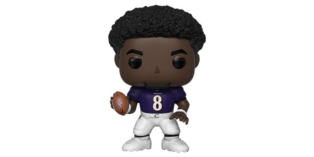 Lamar Jackson Funko POP – Baltimore Ravens, on sale for $18.39 (9% off)