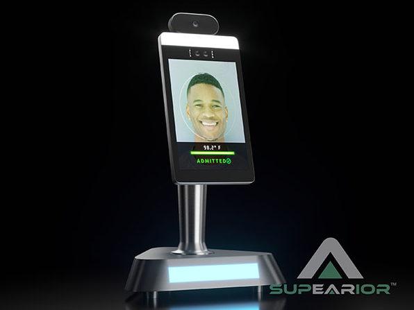 Supearior™ Automated Temperature Screening Kiosk