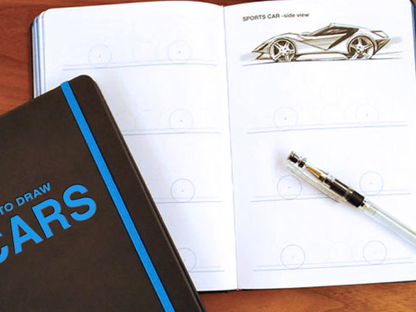 How to Draw Sketchbook: Cars