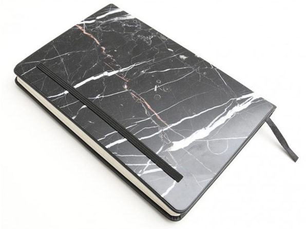Marble Notebook (Nero Marquina)