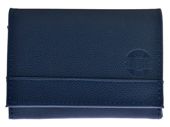 Hero Goods: James Bi-Fold Wallet (Blue)