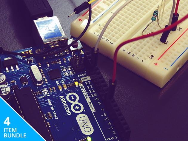 Complete arduino starter kit course bundle tnw deals