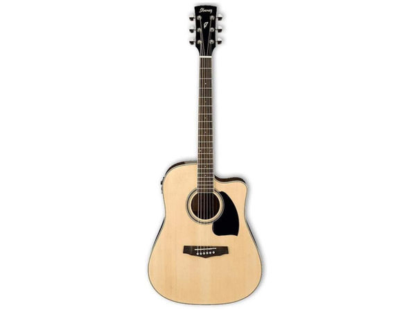 Ibanez PF15ECENT Performance Dreadnought Acoustic-Electric Guitar Bronze Natural (Like New, Damaged Retail Box)