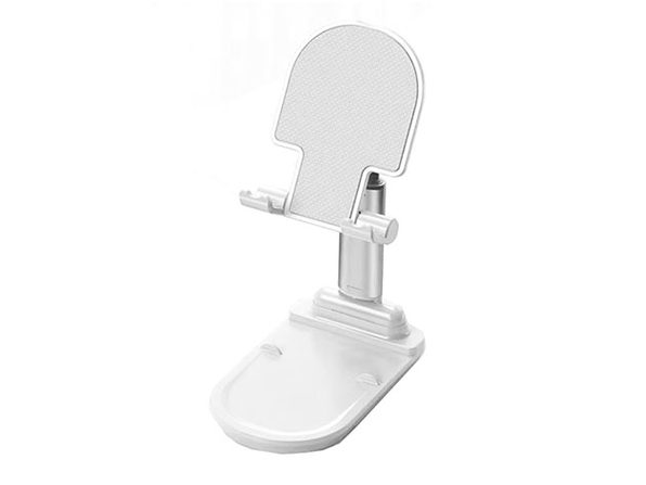 Quick Set Insta Stand for Mobile & Tablets (White)