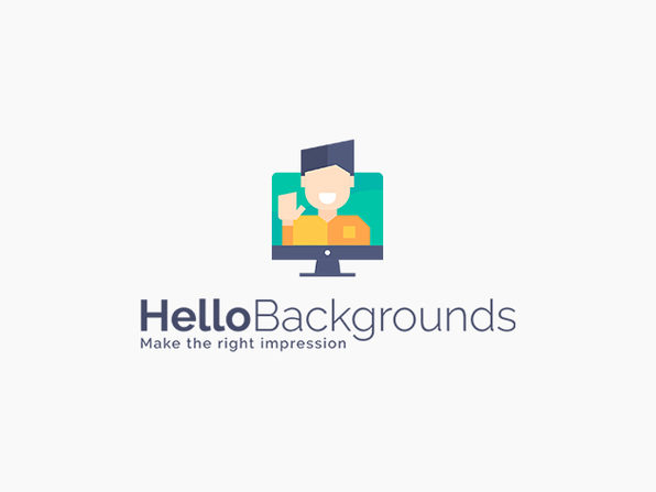 Hello Backgrounds: Videos & Images Package