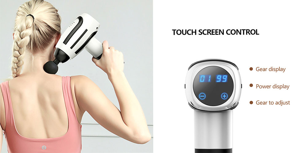 ZTECH Percussion Massage Gun, on sale for $63.99 when you use coupon code BFSAVE20 at checkout
