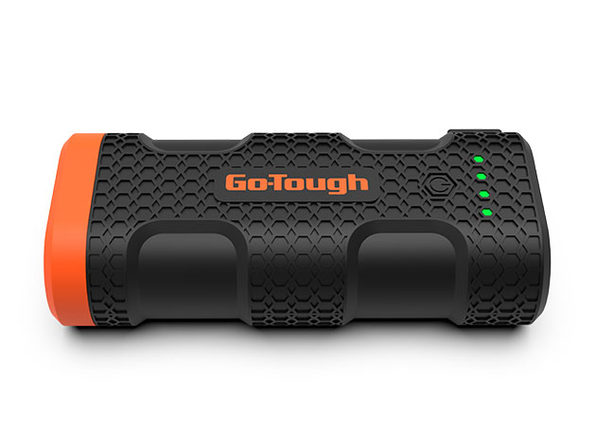 GO-TOUGH Power Bank with LED Flashlight