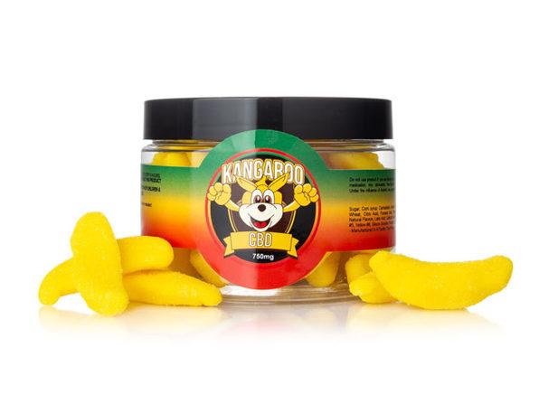Kangaroo CBD Gummies- Banana 750 MG - Product Image