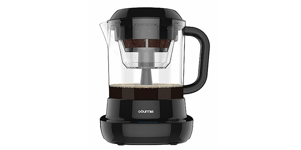 Gourmia® GCM6850 Digital Accelerated Cold Brew Coffee Maker, now on sale for $53.99 when you use the coupon code COFFELOVE10 at checkout