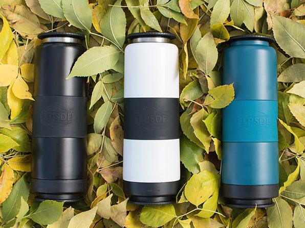 FLPSDE Dual-Chamber Water Bottle