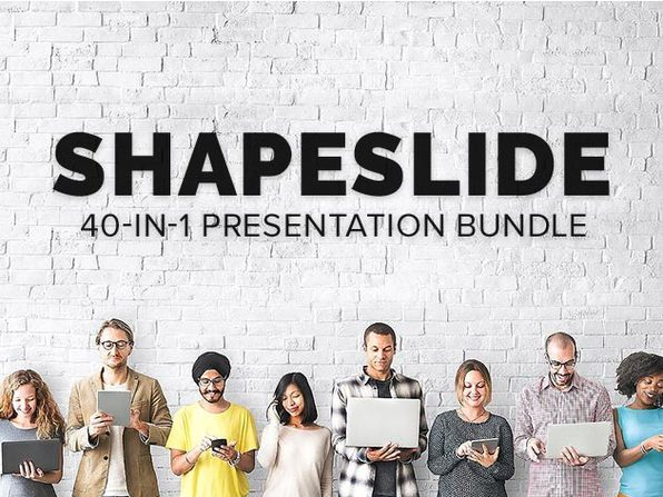 ShapeSlide 40-in-1 Presentation Bundle