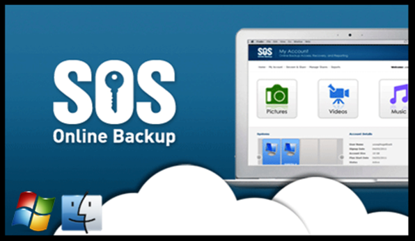 SOS Online Backup - Product Image