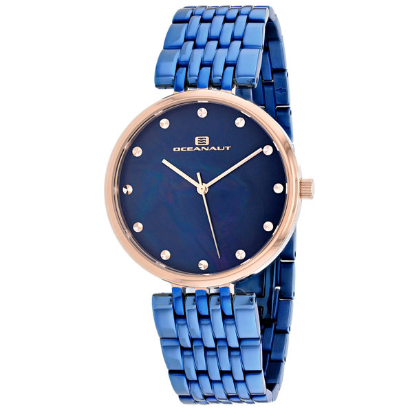 Oceanaut Women's Aerglo Blue MOP Dial Watch - OC2206