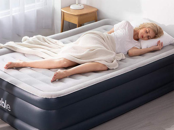 Sable Air Mattress with Built-in Electric Pump (Full Size)
