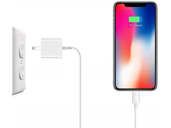 Cellvare Wall Charger(1M Cable, 3.3 Feet & USB Wall Adapter)for iPhone & iPad compatible with iPhone 11/X/8/7 - 2-Pack