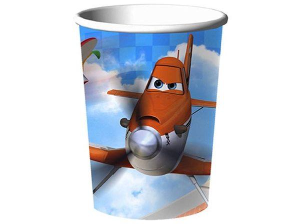 Cups - Planes - 9oz Paper - 8ct