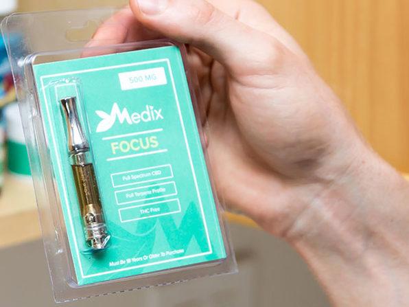 "Medix ""Relax"" CBD Vape Oil Cartridge (500 mg/1 Ml)"