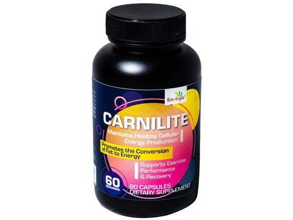 Ketoveyda Carnilite Maintains Healthy Energy Dietary Supplement - 60 Capsules