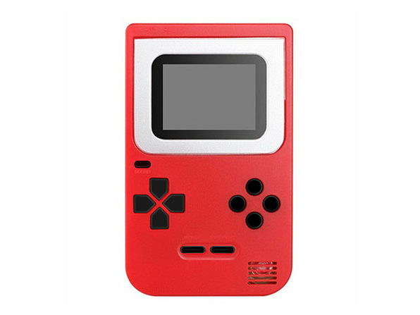 Mini Handheld Game Console 2.0 + 268 Games (Red)