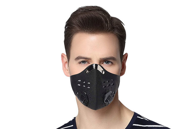 Dust Proof Mask with 3 Filters (2-Pack)