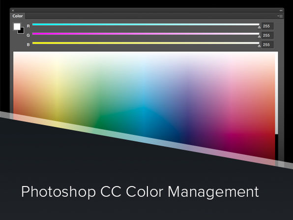 Photoshop CC Color Management Course - Product Image