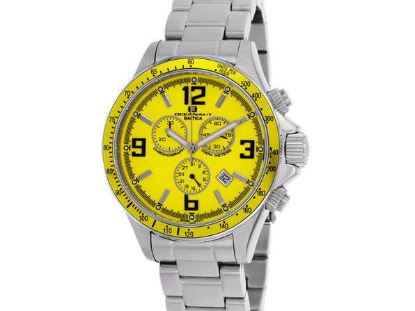 Oceanaut Men's Baltica Yellow Dial Watch - OC3324