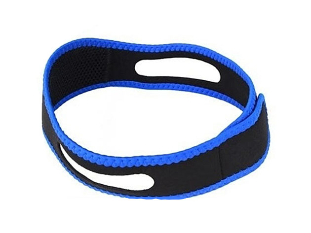 This anti-snoring strap is comfortable around the neck and also gives you much needed support when sleeping