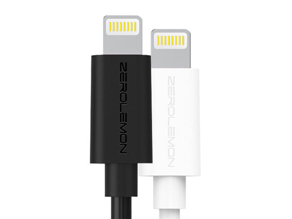ZeroLemon MFi-Certified 10-Ft Lightning Cable: 2-Pack