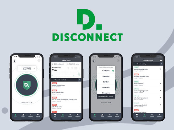 Disconnect iOS Premium VPN: 2-Year Subscription