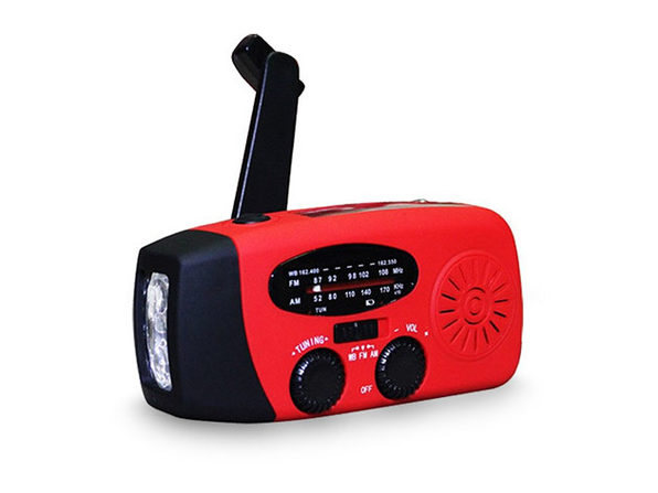 Emergency Multi-Function Radio & Flashlight - Product Image