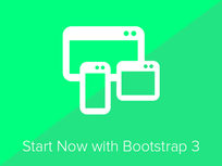 Build A Responsive Site With Bootstrap 3 In 4 Hours - Product Image