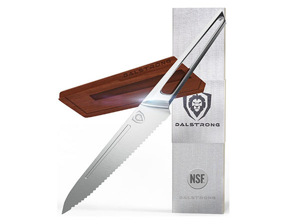 "Dalstrong Crusader Series NSF-Certified Knife (5.5"" Serrated Utility)"