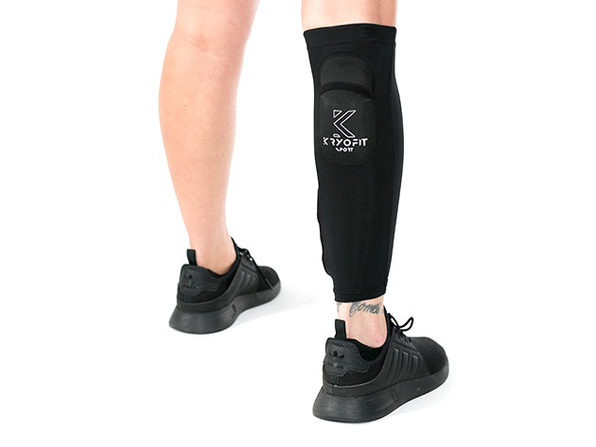 Dual Compression Full Leg Sleeves with Freeze Packs