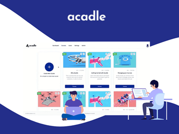 Acadle Learning Management System: Lifetime Subscription