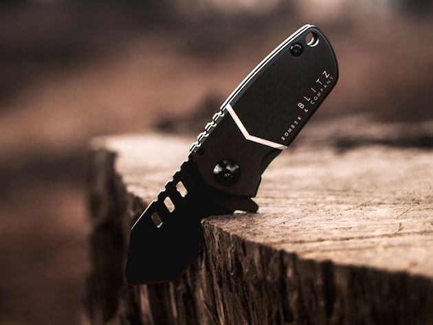 The Blitz Mini Tactical Knife can be yours for just $35 for a limited time only in the Daily Caller Shop