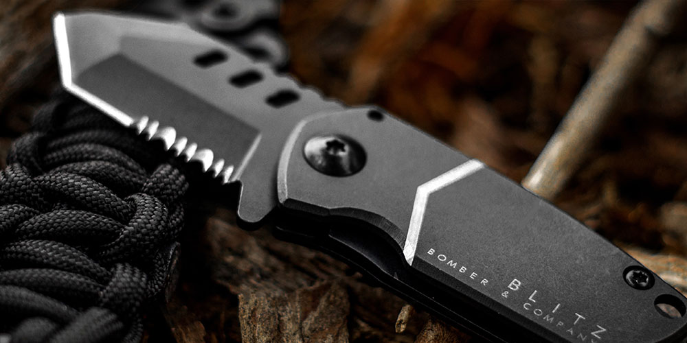 B-2 BLITZ Tactical Pocket Knife, on sale for $35.99 (52% off)
